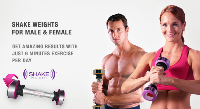 Shake Weights For Male & Female